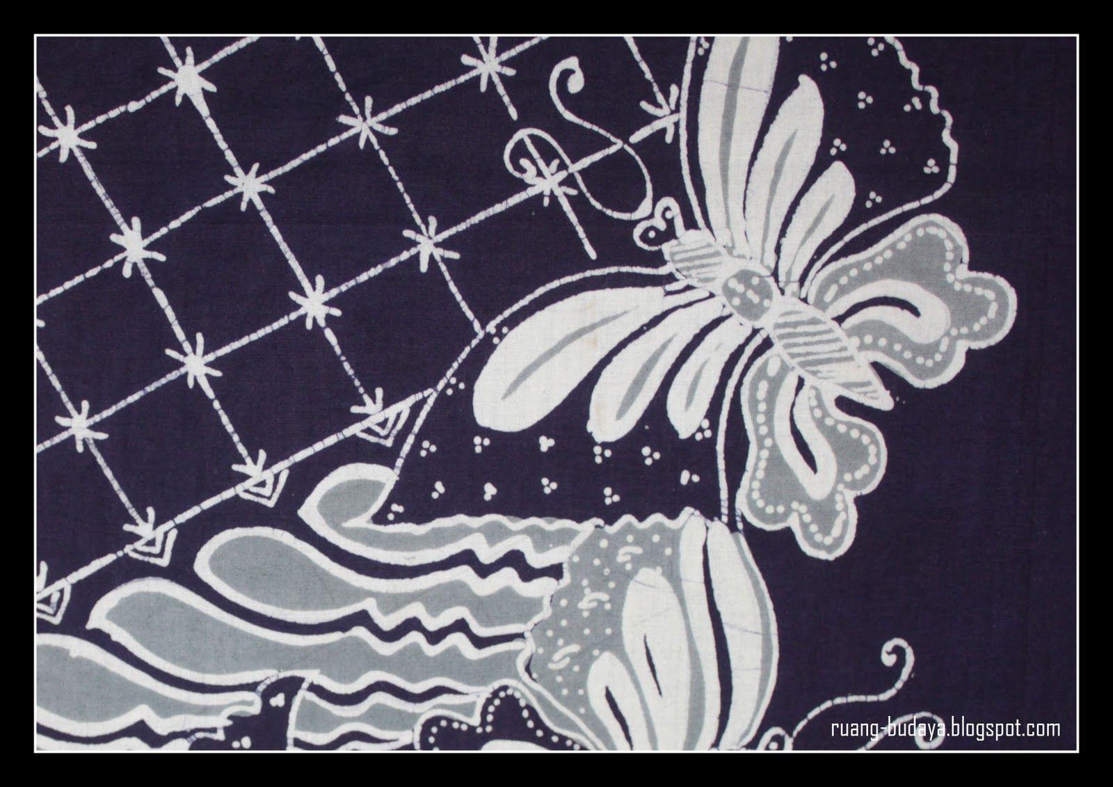 Batik Tasikmalaya Motif Kupu Kupu Kupu Kupu Sketsa Buku Gambar