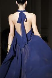 vestidos de espalda descubierta largos - Buscar con Google