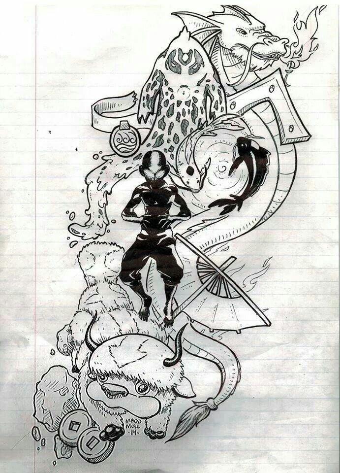 korra tattoo