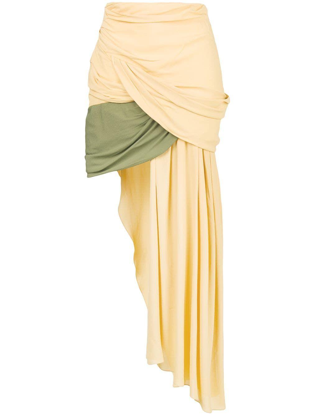 15b0cd220 Jacquemus draped asymmetric skirt | Skirts in 2019 | Skirts ...