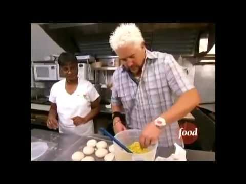 Diners Drive Ins And Dives When They Visited My Friend Anthon S Trinidadian Restaurant Yummy
