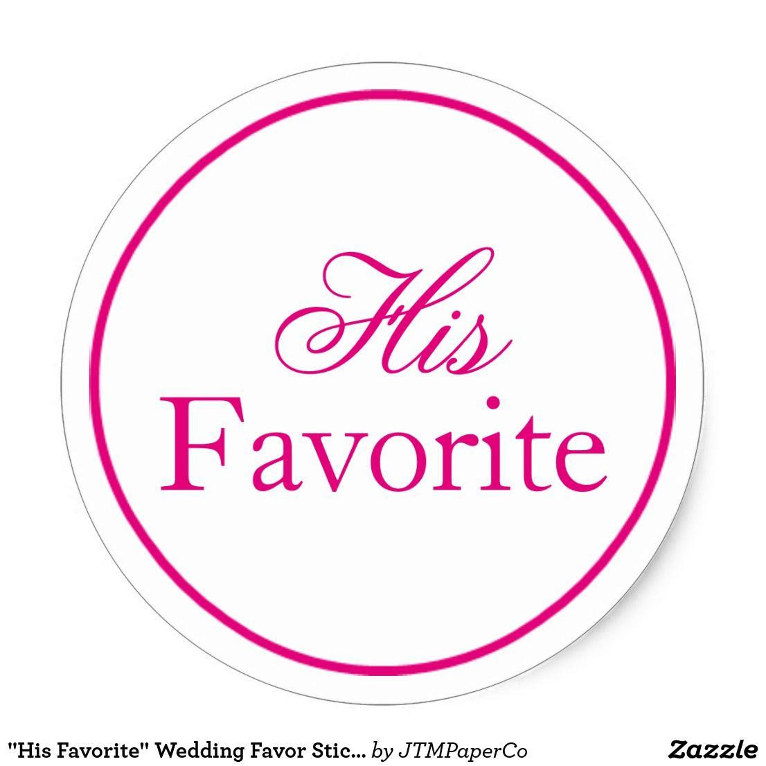 His Favorite\