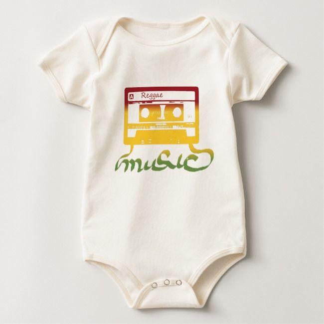 0d85dcabd97 rasta tape reggae baby bodysuit