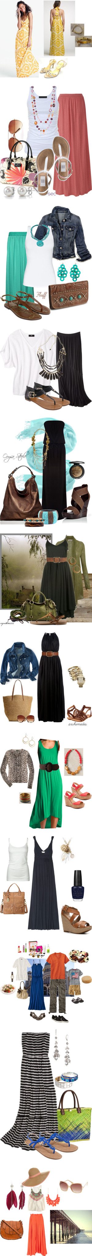 """To the Maxi"" by eburns on Polyvore"