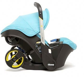meet doona the infant car seat that turns into a stroller spilling the