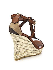 2abd15521bd Burberry - Wedland Leather Wedge Espadrilles | Summer Shoes ...
