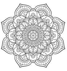 Paisley Hearts And Flowers Anti Stress Coloring Design Worksheet Color In This