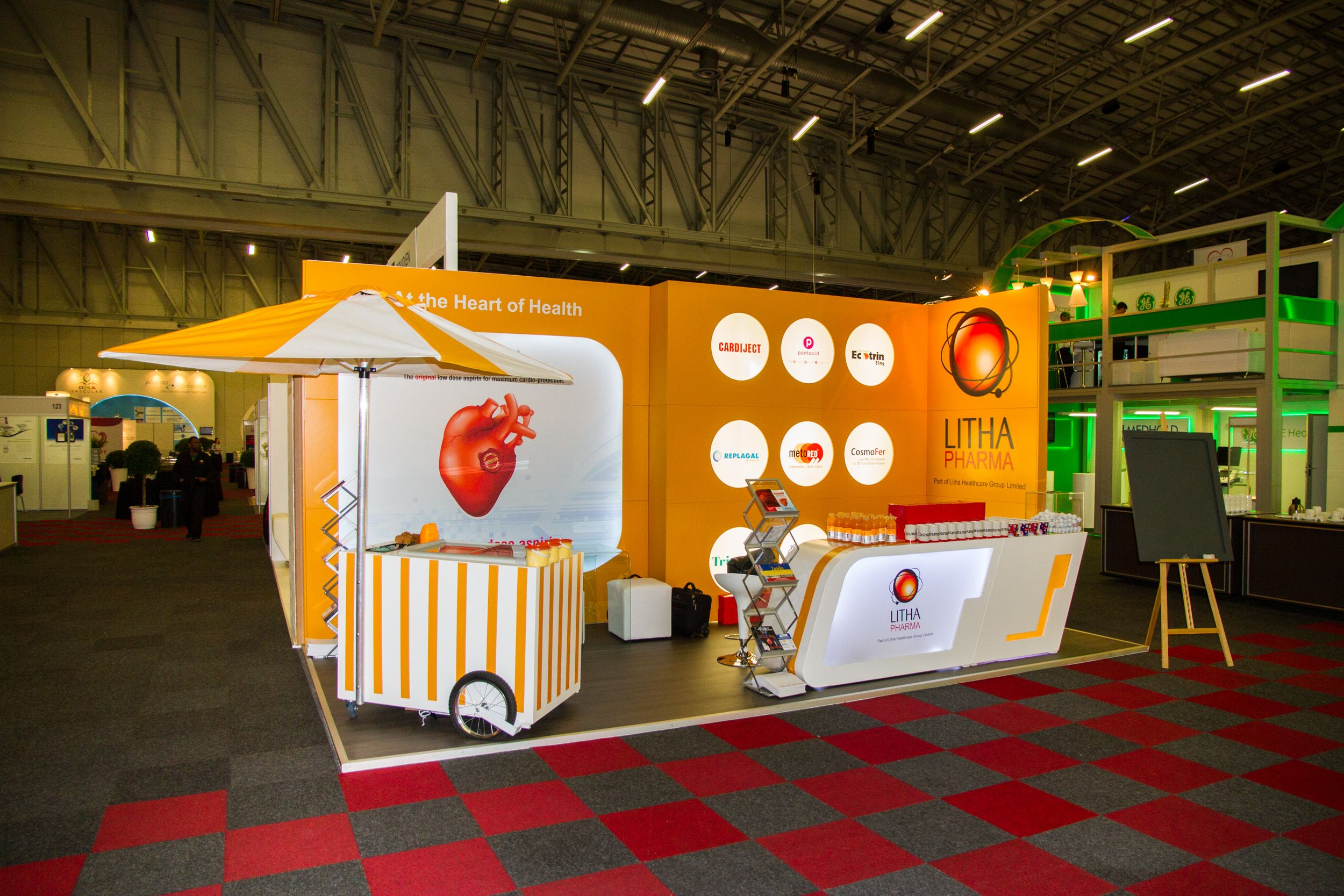 Exhibition Stand Design Cape Town : Litha pharma th world paediatric cardiology congress