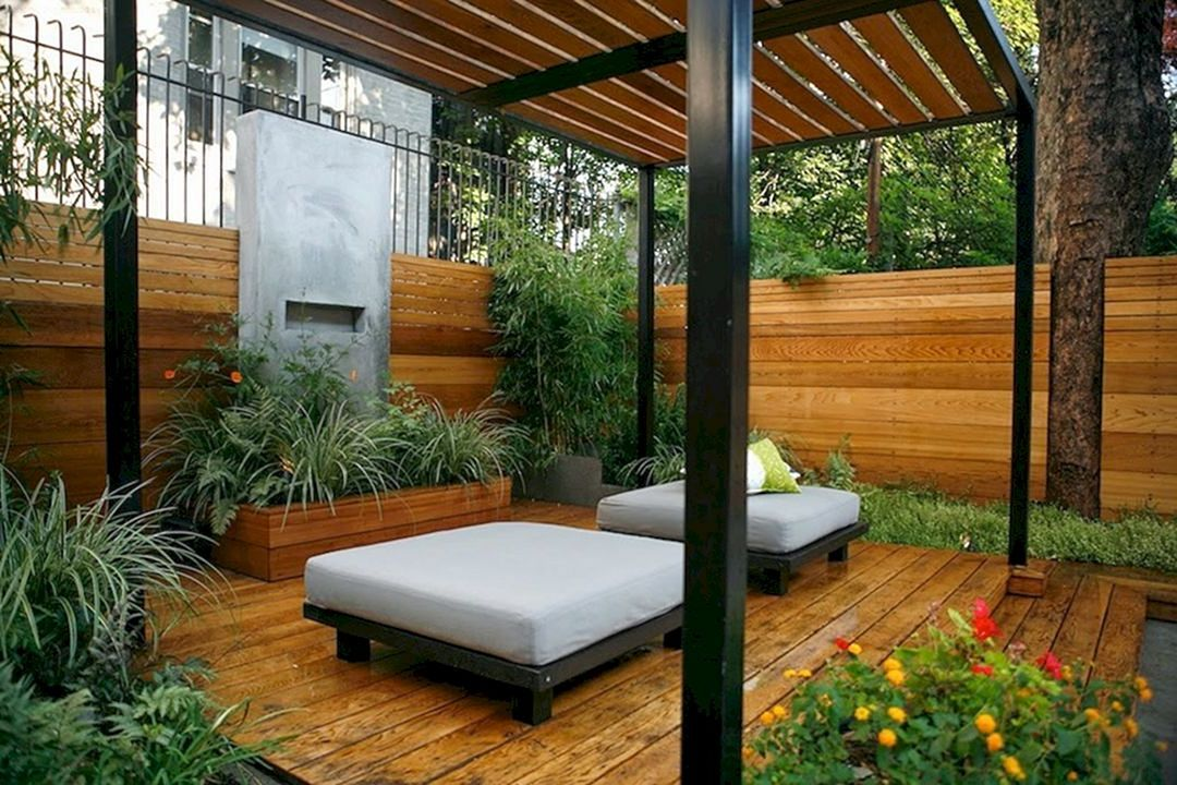 Inspiring 76 Beautiful Zen Garden Ideas For Backyard http