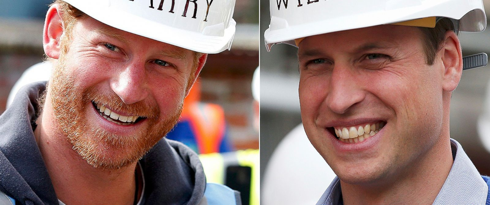 PHOTOPrince William and Prince Harry visited Manchester