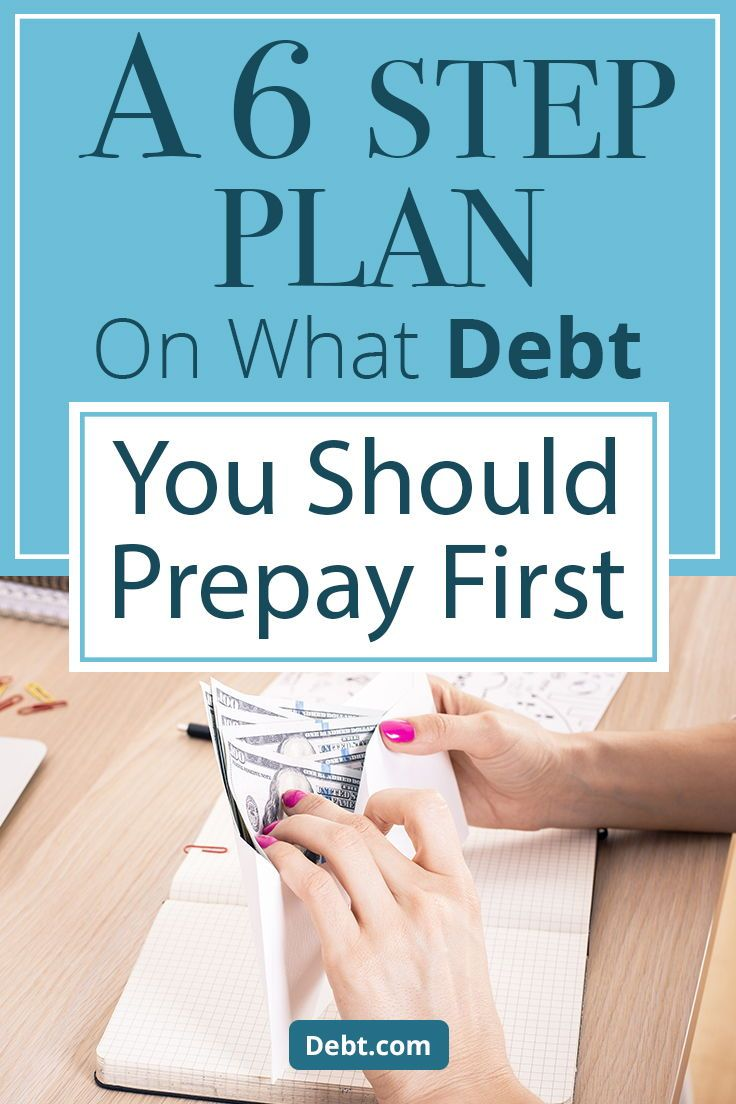 A 6step plan for prioritizing debt repayment in 2020