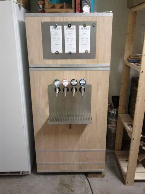 show us your upright refrigerator kegerator conversion with images kegerator home on outdoor kitchen kegerator id=54487