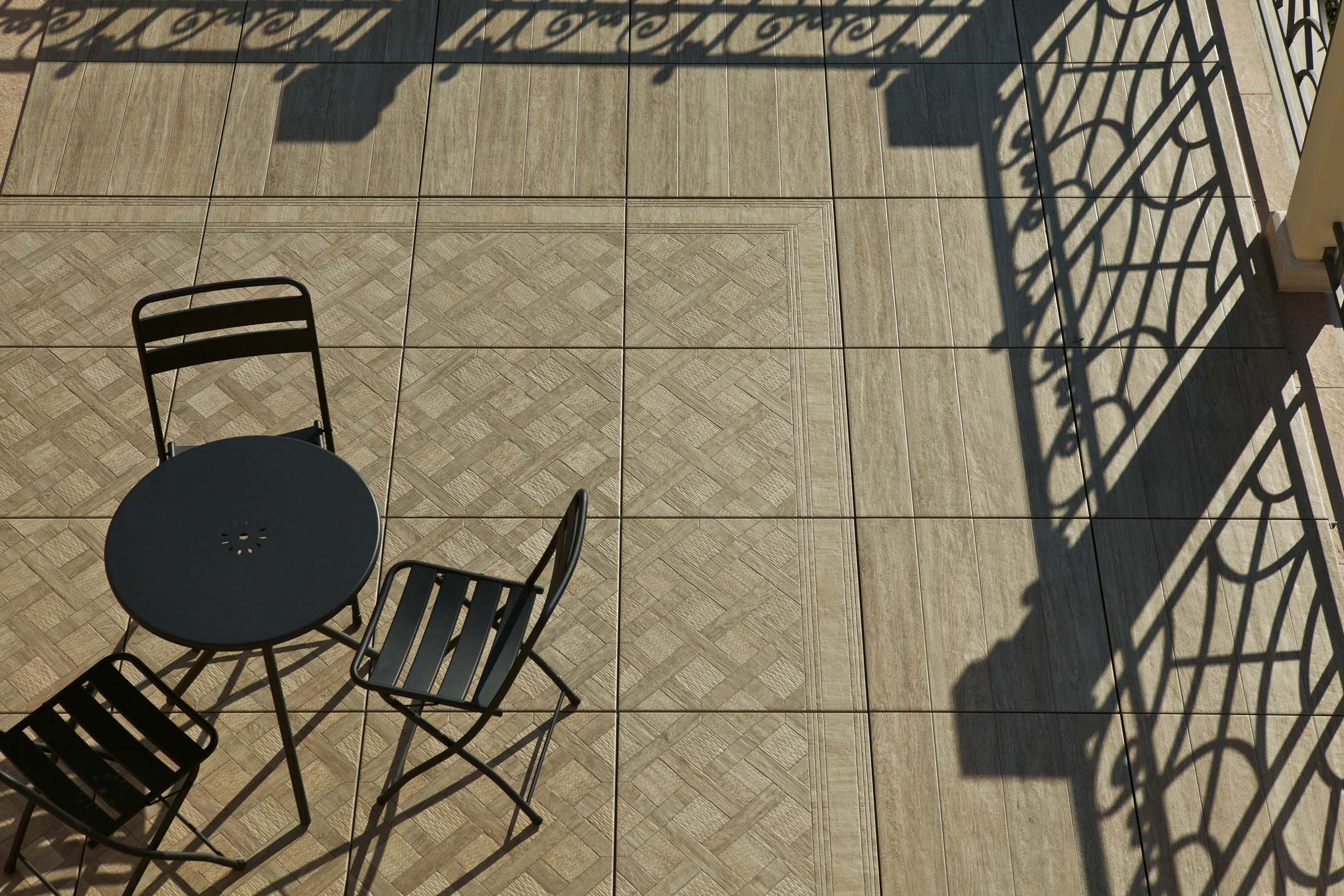 Decorative Outdoor Tiles Amusing Parquet For The Outdoors Woodays 20Mmthick Porcelain Tiles Review