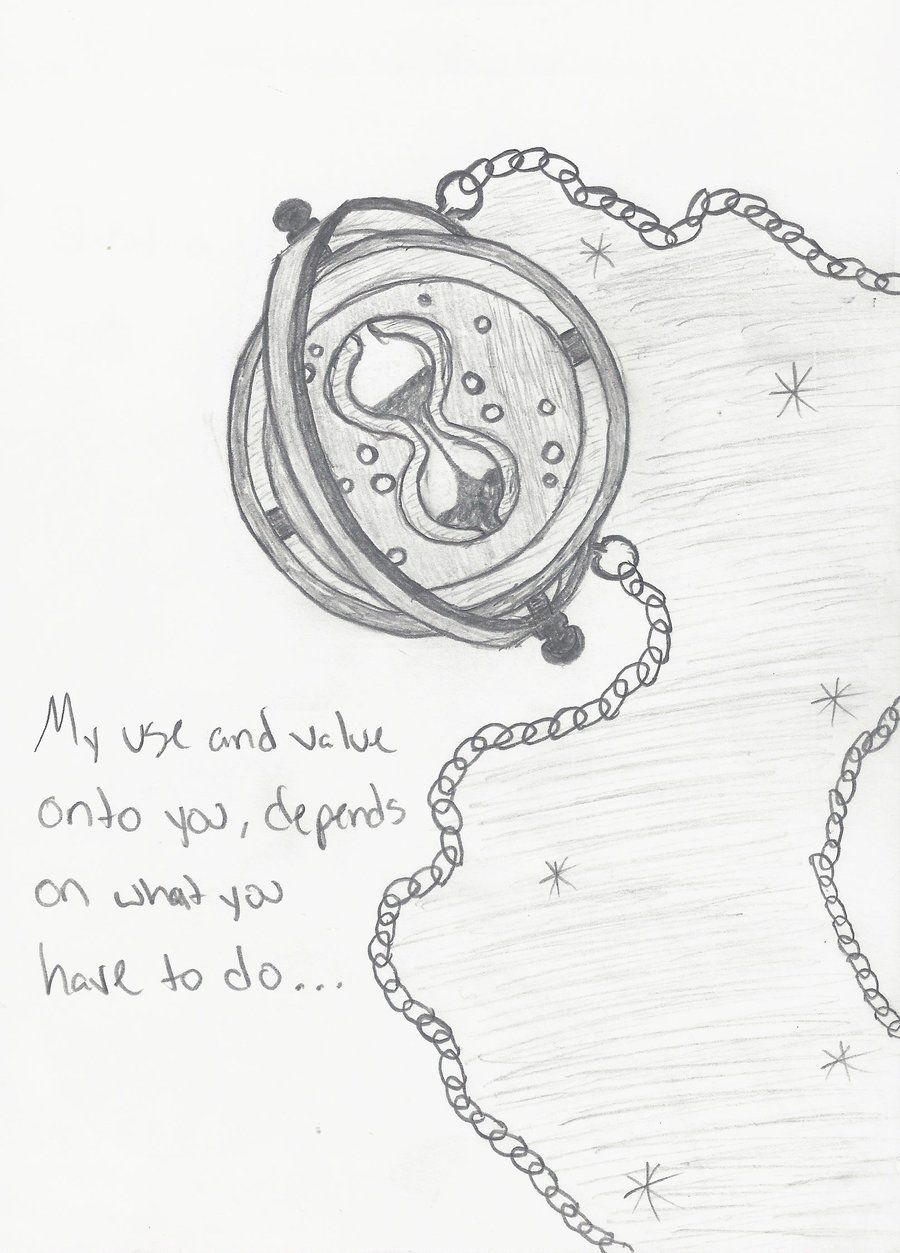 Time turner my next tattoo nerdy in 2019 pinterest harry potter zeichnungen harry potter - Harry potter dessin ...