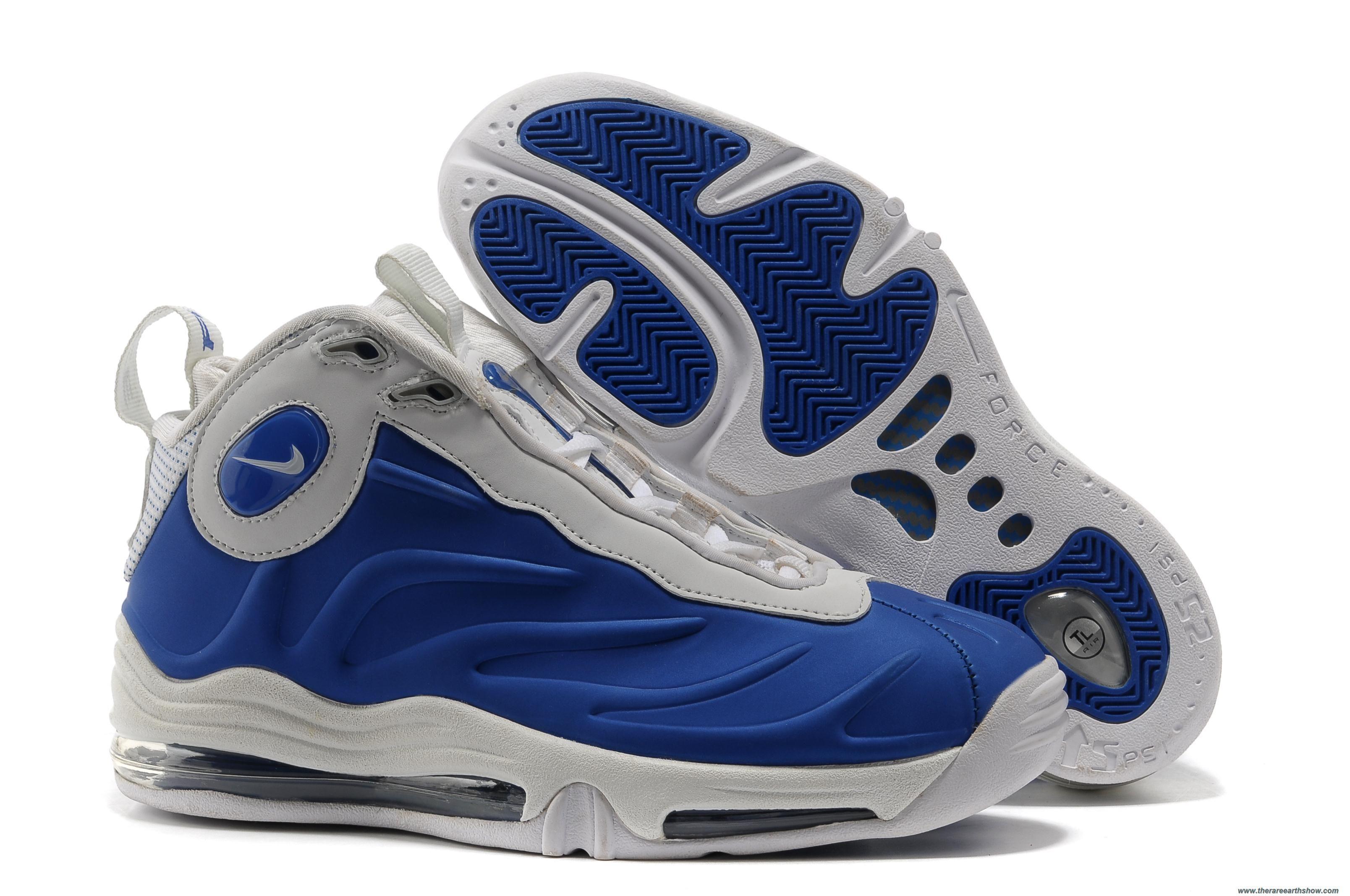 online retailer 8a3a1 cbe03 Cheap Nike Air Total Foamposite Max White Royal Blue
