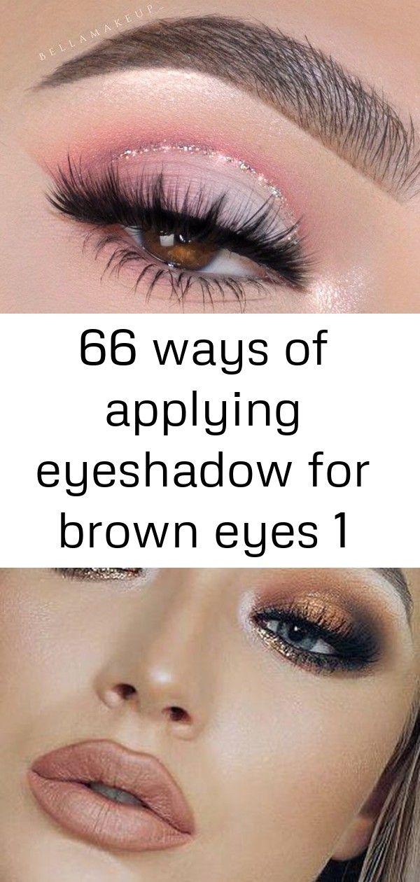 66 ways of applying eyeshadow for brown eyes 1 #glittereyeliner