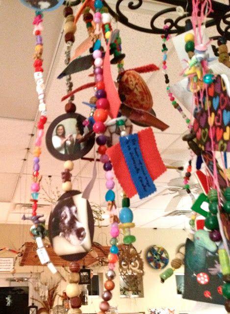 Reggio Inspired Hanging Art Fairy dust teaching, Reggio