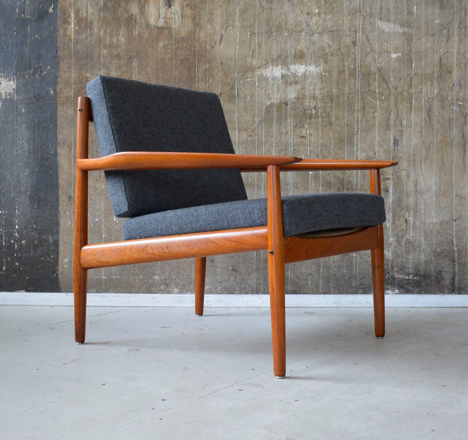 Arne Vodder Sessel 60er Arne Vodder Teak Sessel Glostrup 60s Easy Chair Danish Design