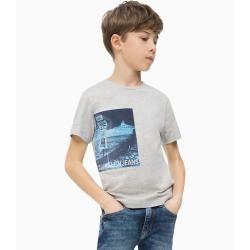 Photo of Outlet – Calvin Klein T-Shirt mit Fotodruck 6 Jahre (116 cm) Calvin Klein
