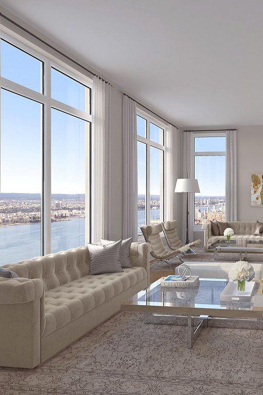 livingpursuit 30 Park Place Penthouse Pinterest Departamentos - diseo de interiores de departamentos