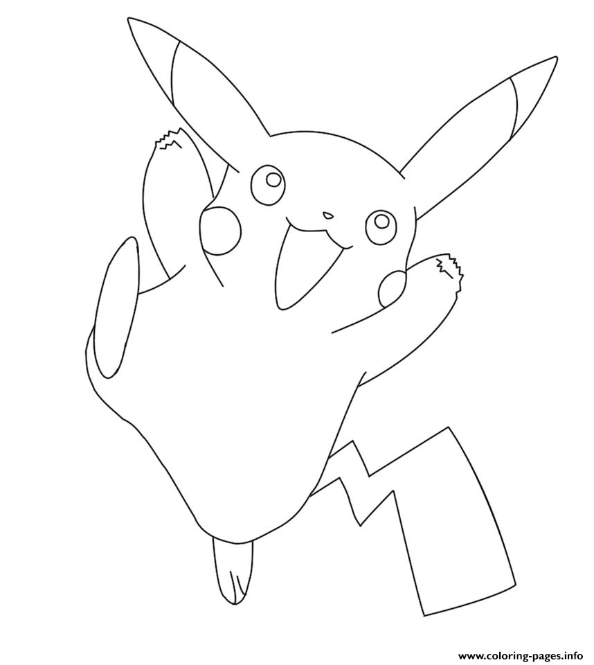 Print Pikachu Pokemon Coloring Pages Pokemon Coloring Pages Pikachu Coloring Page Pokemon Coloring [ 960 x 858 Pixel ]