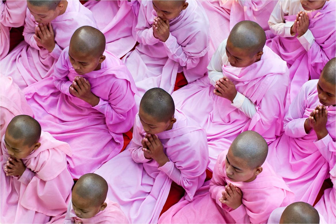 Sagaing Nuns at Prayer by Christopher Martin on 500px