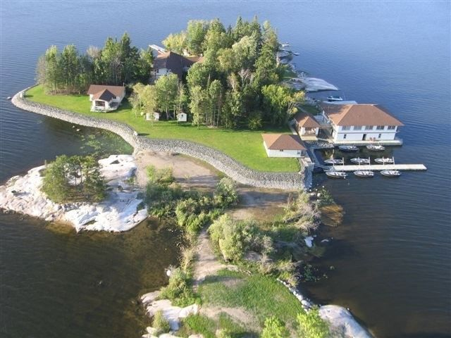 Lake Of The Woods Lodge Rental: Private Island Resort For