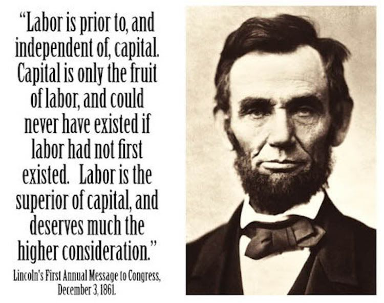 e quote from Abraham Lincoln might just surprise you