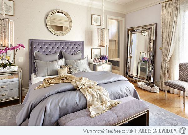 15 Sample Photos Of Decorating With Mirrored Furniture In The Bedroom |  Home Design Lover