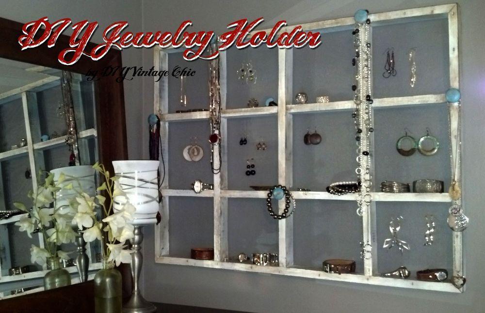 Photo of DIY Jewelry Holder and Organizer