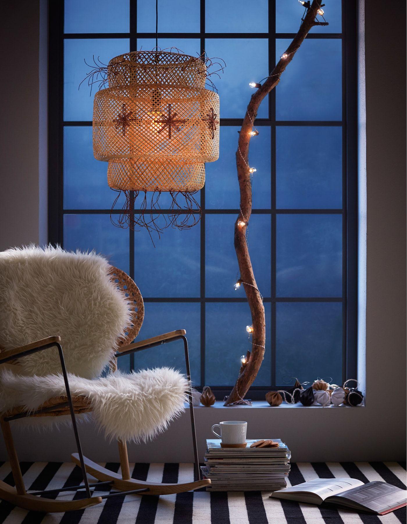 Weihnachtsbeleuchtung: Fenster ganz festlich