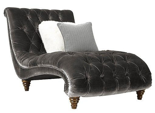 Make Your Living Room Look Elegant With Madesos Hasten Chesterfield Lounger  Sofa In Dark Grey Colour