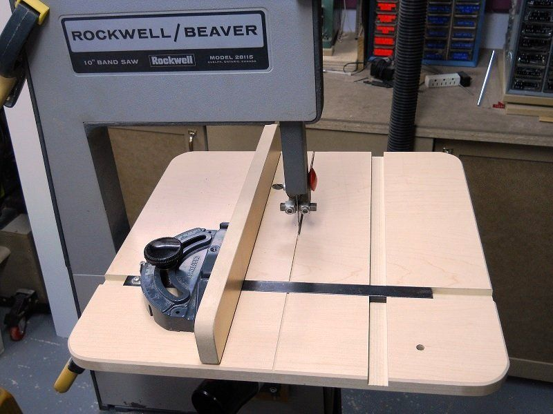 Shop Made Band Saw Table Rip Fence Or Save More Than 100 By Bricofleur Lumberjocks Com Woodwo Woodworking Bandsaw Bandsaw Bandsaw Projects