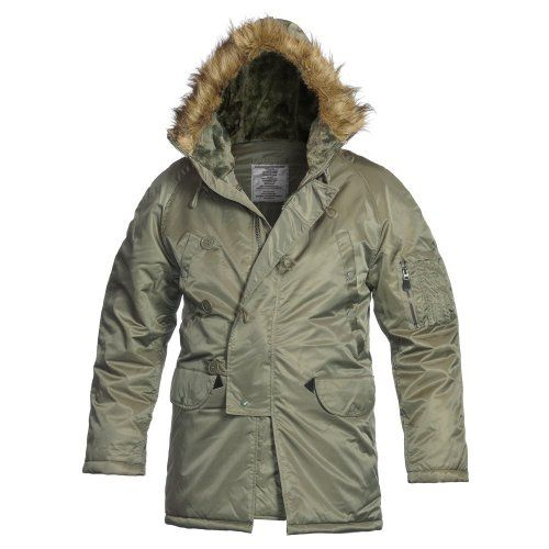 Military Parka Extreme Cold Weather Type N-3b | Army Parka Extreme ...