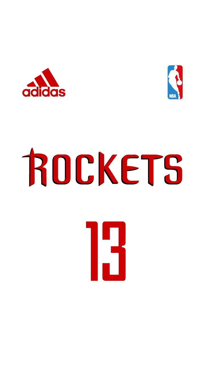 Pin By Trevor Gibbons On Free Iphone 6 Nba Jersey Wallpaper Project Houston Rockets Nba Uniforms Nba