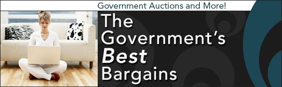 Government Auctions are Full of  Great Deals!