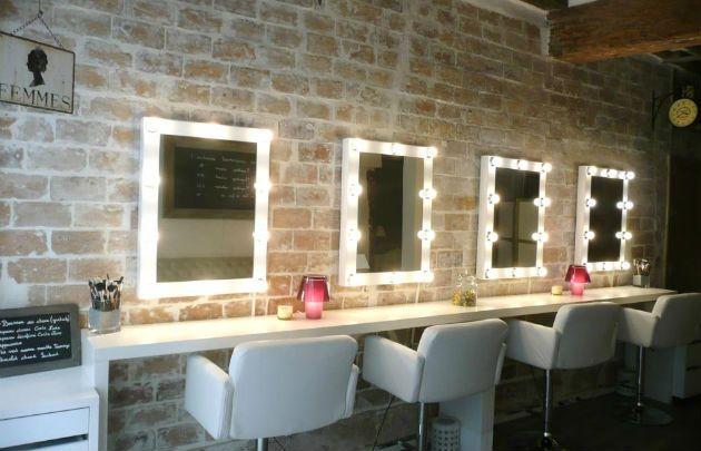 Makeup Me Decoration Salon De Coiffure Salon De Maquillage Salon Esthetique