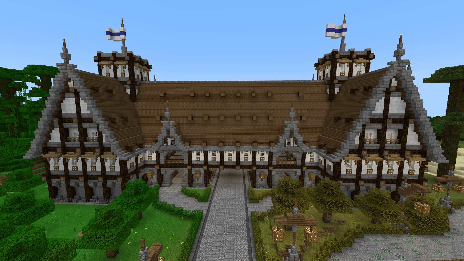 Mittelalter Torhaus + (Bedrock Downloade) Minecraft Map