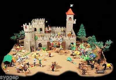 Forest Hunters Playmobil Castle Knights Royal Kingdom Garden