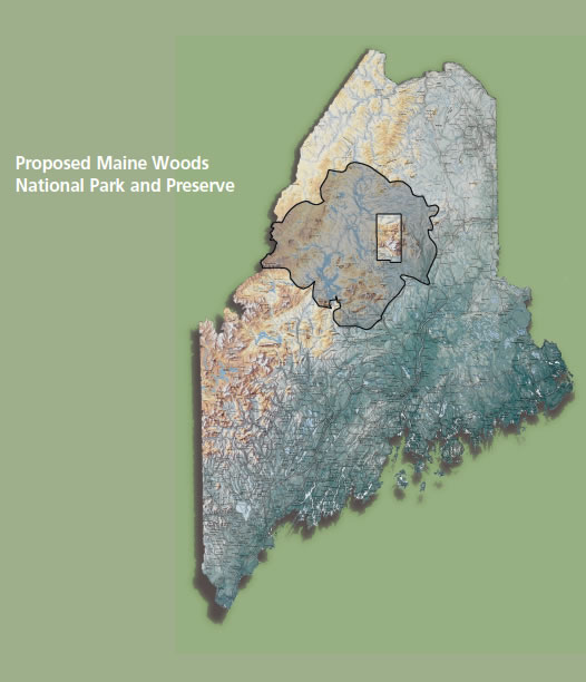 Photo of Maine Woods National Park – Proposed Park
