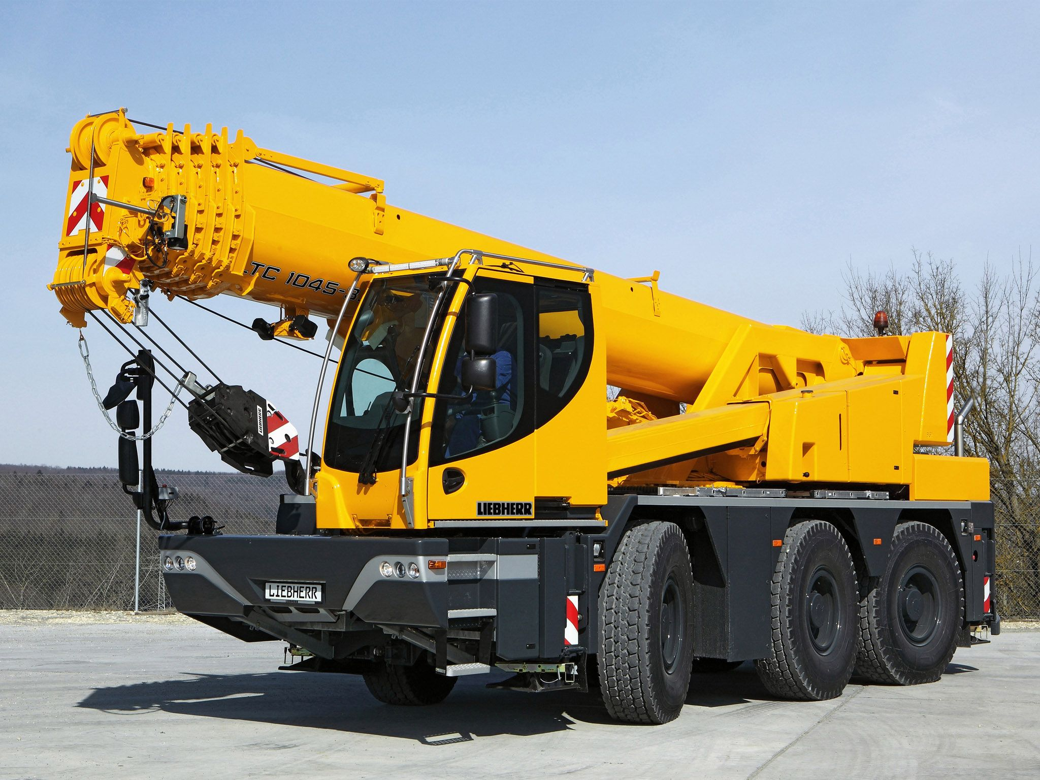 Liebherr Mobile Crane Equipment Pinterest Heavy