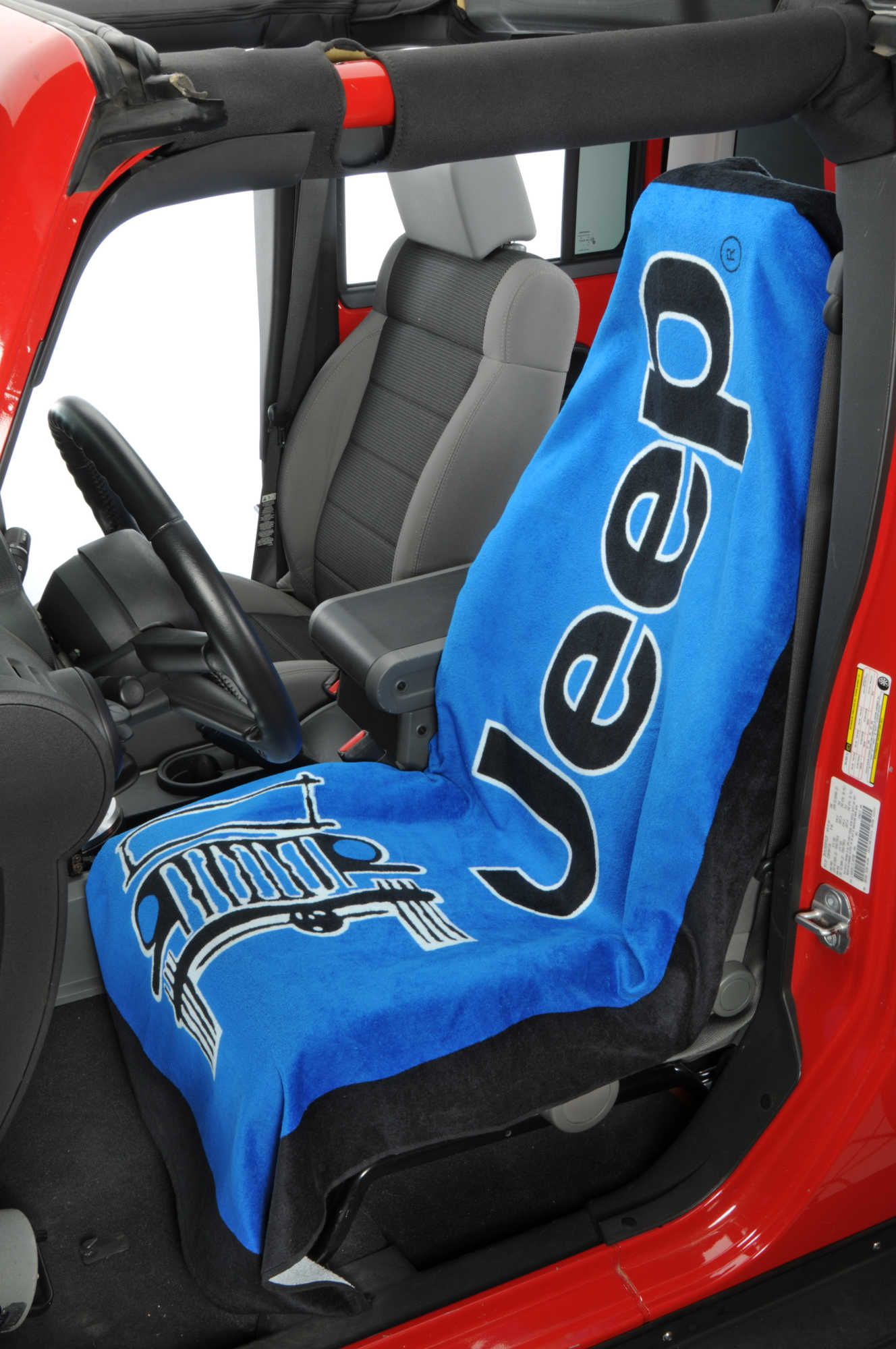 Insync Jeep Logo Towel 2 Seat Cover
