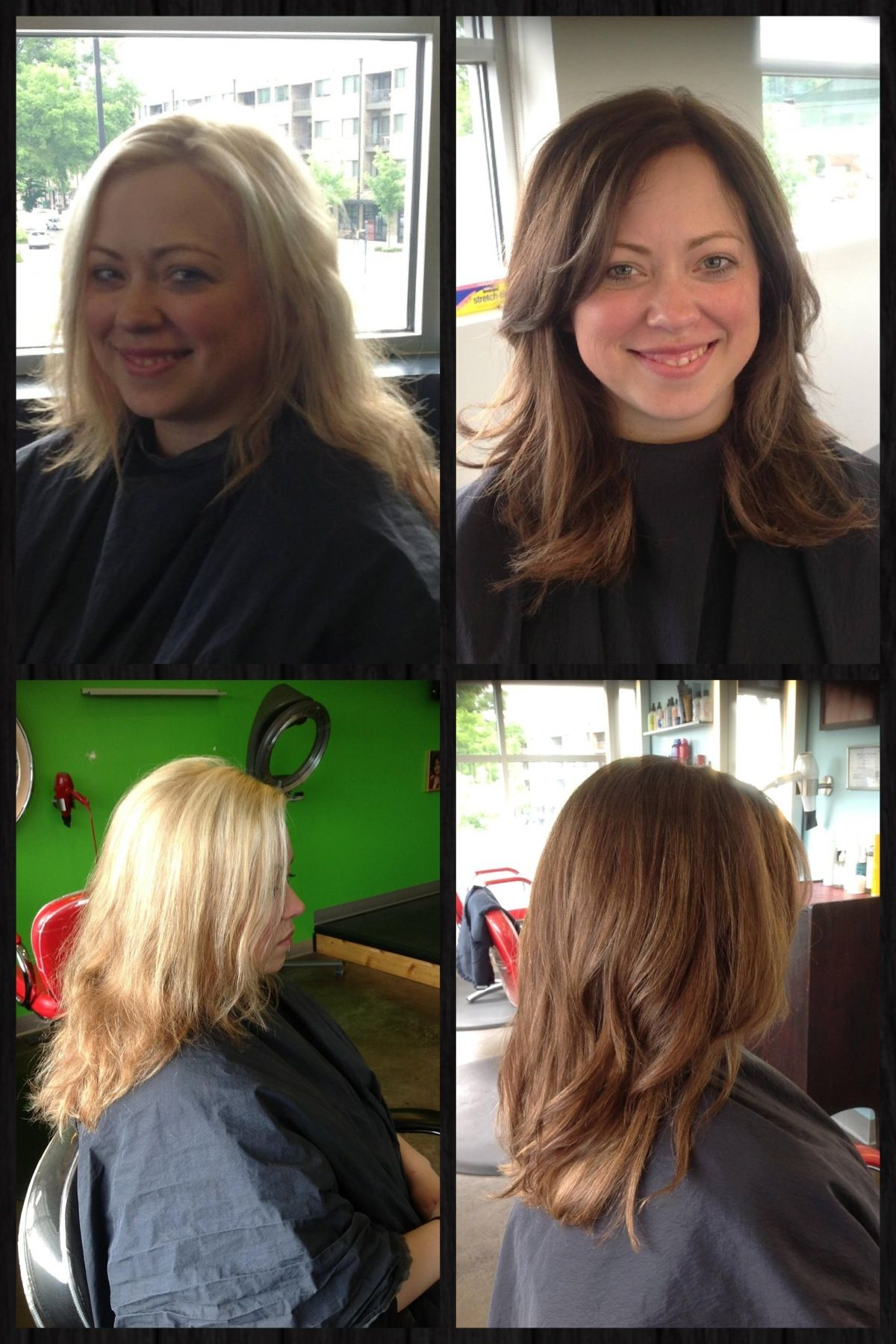 mom hair and fashion makeovers mom makeover before and after before and after hair by kathryn werk hair makeover