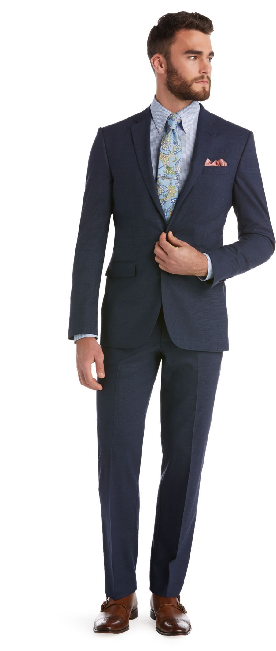 1905 Collection Slim Fit Suit - Big   Tall  13285c7d2