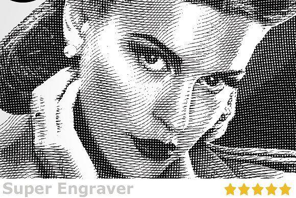 Super Engraver by Design Rocket on @creativemarket