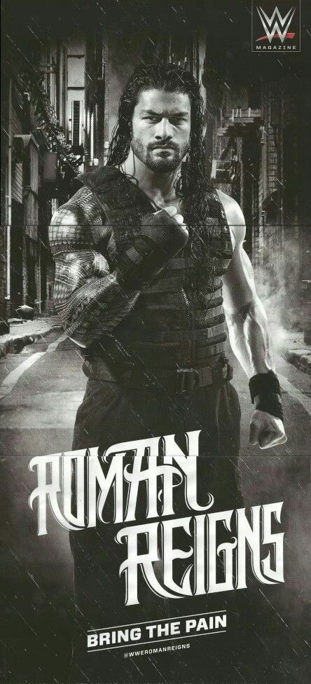 Roman reigns fight to the end cause you are the man believe that