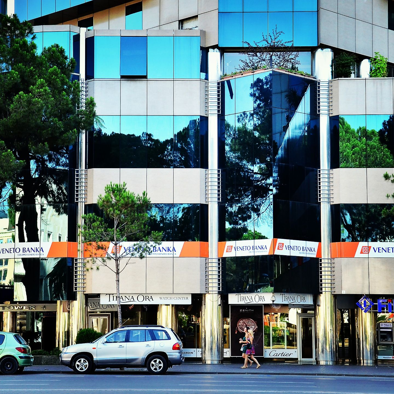 Pin on Veneto Banka's Branch in Tirana - Albania