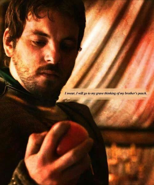 Renly and his peach