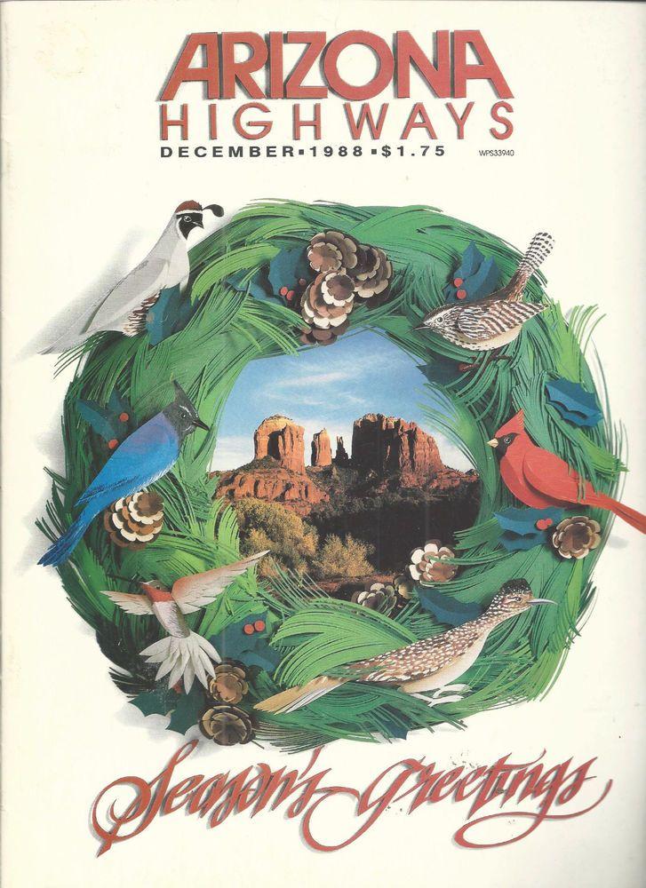 Arizona Highways December 1988 Christmas Memories Supai