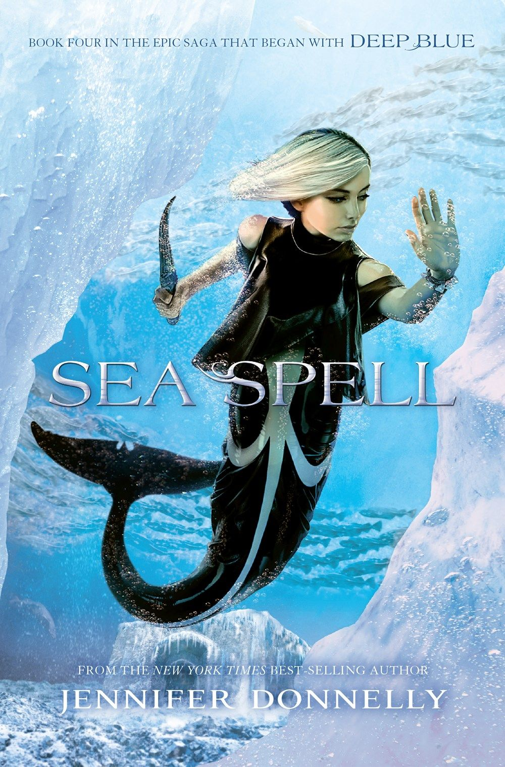 #coverreveal Sea Spell (waterfire Saga, #4) By Jennifer Donnelly